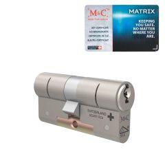 M&C Matrix cilinder, SKG*** met certificaat