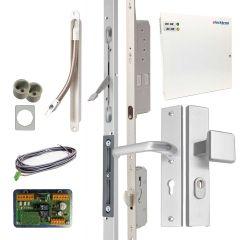 Set elektrische meerpuntssluiting voor dubbele deuren