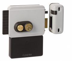 Elektronisch oplegslot vaste cilinder DIN Links