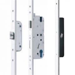 elektrische meerpuntssluiting voorplaat 24x10mm
