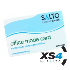 Salto XS4 zelf programmeer office-modus kaart