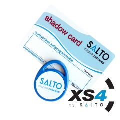 Salto XS4 zelf programmeer gebruikers tag