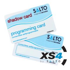 Salto XS4 zelf programmeerkaart