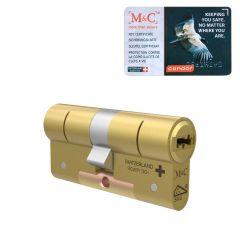 M&C Condor Messing standaard dubbele cilinder