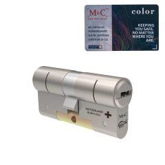 M&C Color Plus standaard dubbele cilinder