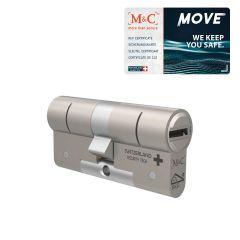 M&C Move cilinder inclusief sleutelcertificaat