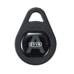Evva Airkey tag sleutelhanger zwart