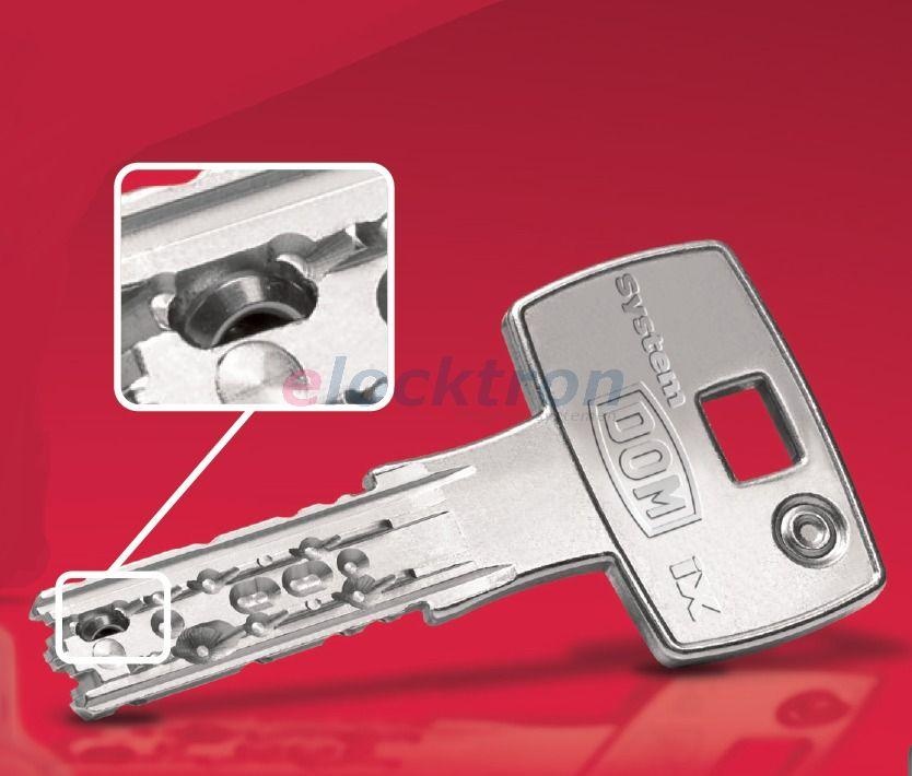 sleutel met bewegend deel