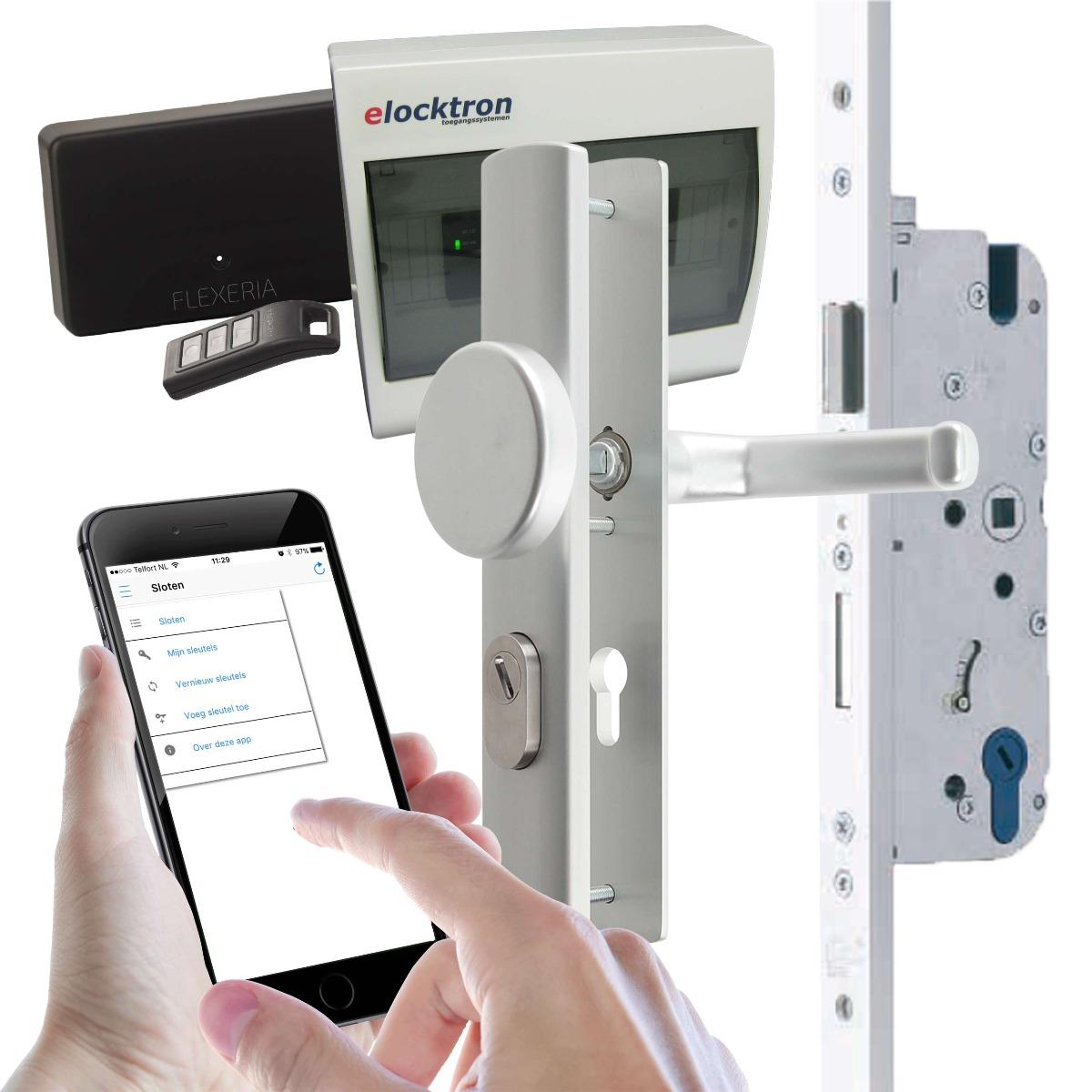 Compleet toegangssysteem met smartphone app