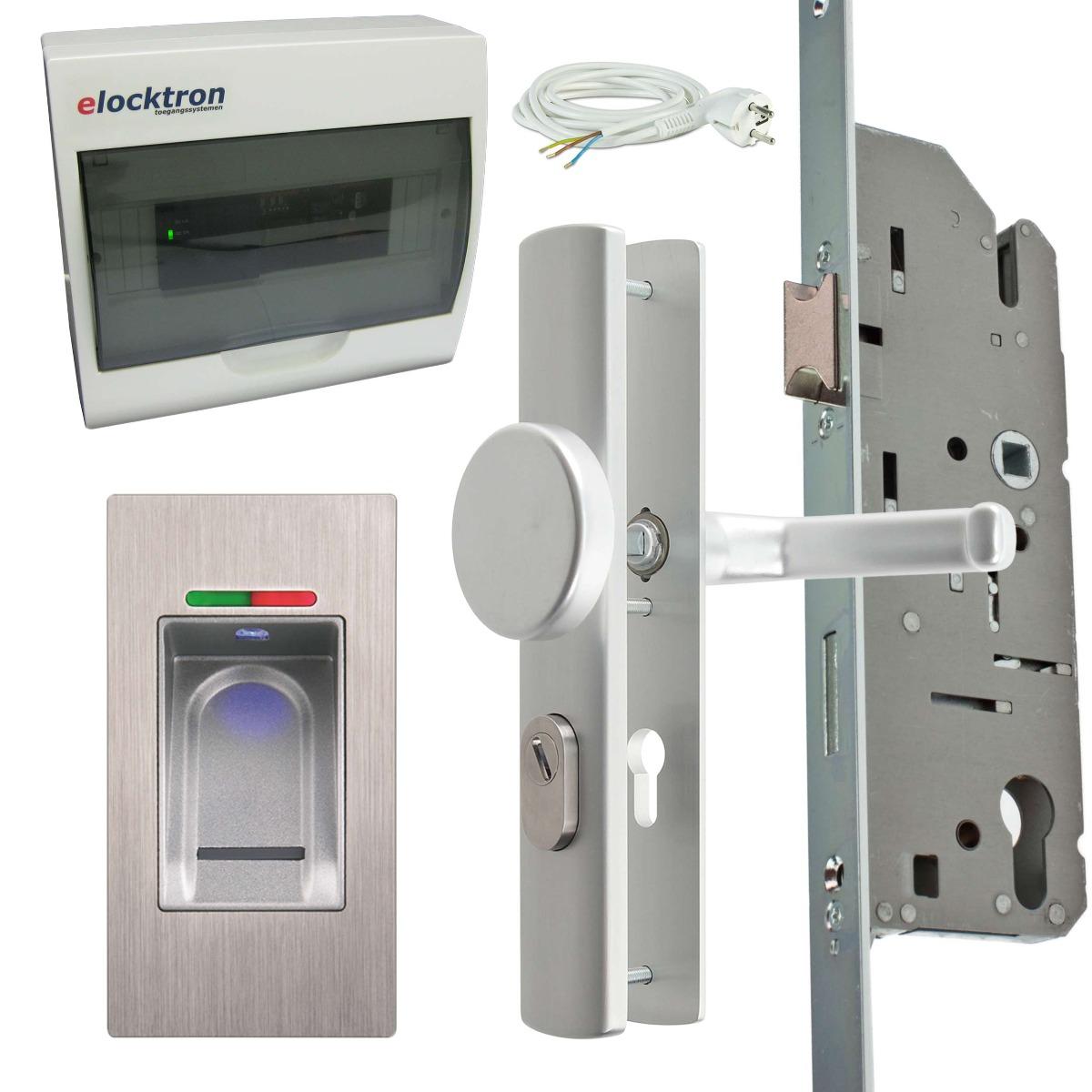 Compleet toegangscontrolesysteem met vingerscan